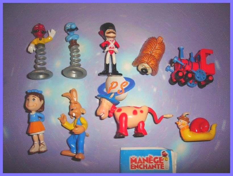 LEO VENTURAS LIONS ADVENTURE 1993 KINDER SURPRISE SET FIGURES COLLECTIBLES