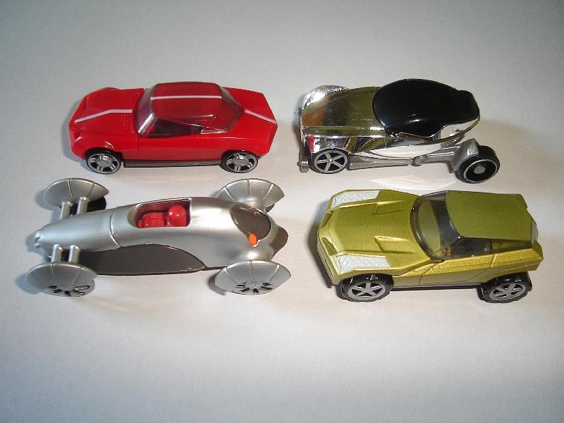 CIRCUS WAGONS MODEL CARS SET 1988 1:87 H0 KINDER SURPRISE PLASTIC MINIATURES