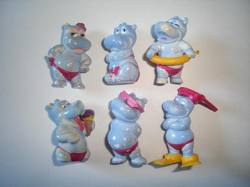 FIGURES ORSETTEN OCTOBERFEST TEDDY BEARS VACATION 2001 KINDER SURPRISE SET
