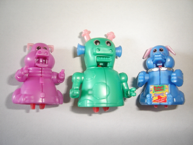 FIGURES MINIATURES TECNATURES CREATURES /& ROBOTS 2002 KINDER SURPRISE SET